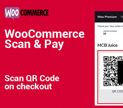 WooCommerce Scan & Pay Plugin (Thank You Page Version)