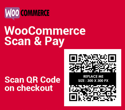 WooCommerce Scan & Pay Plugin (Checkout Page Version)